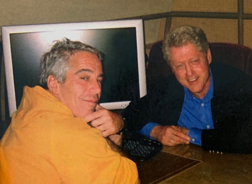 Photo Of Jeffrey Epstein And Bill Clinton