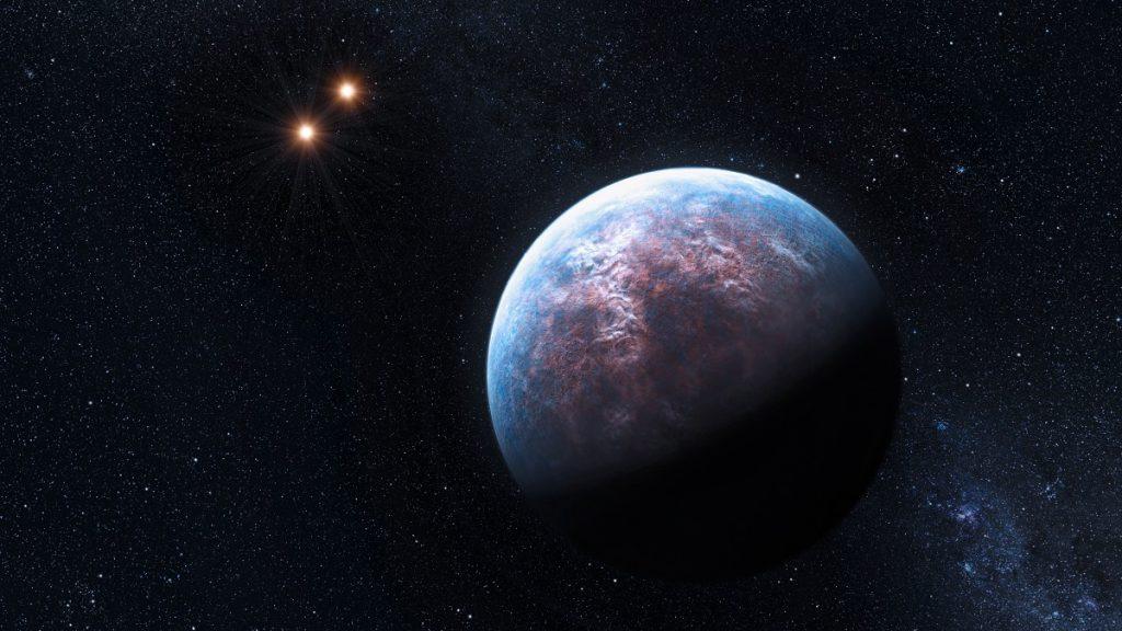 Artist Rendition Exoplanet