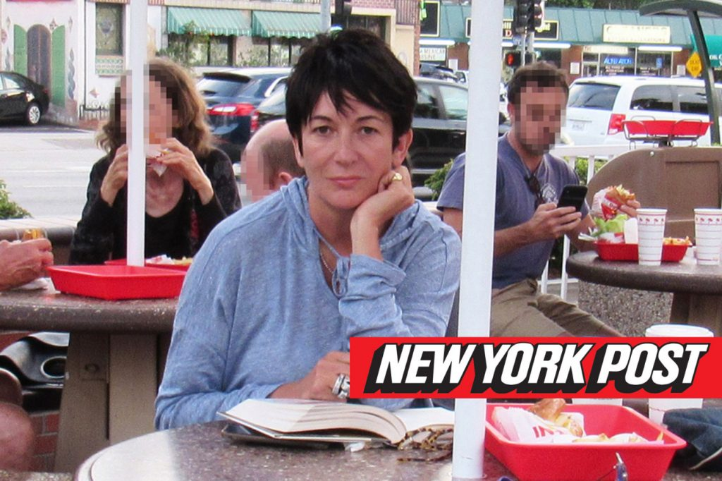 Ghislaine Maxwell In-N-Out Burger 1