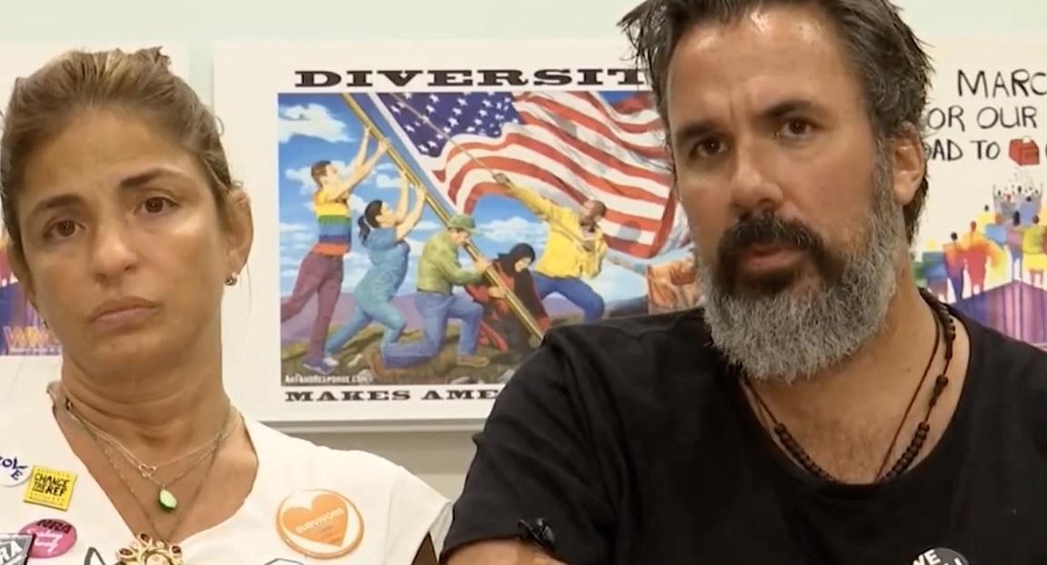 Parkland Victim Parents Manuel And Patricia Oliver Visiting El Paso Texas During Walmart Mass Shooting