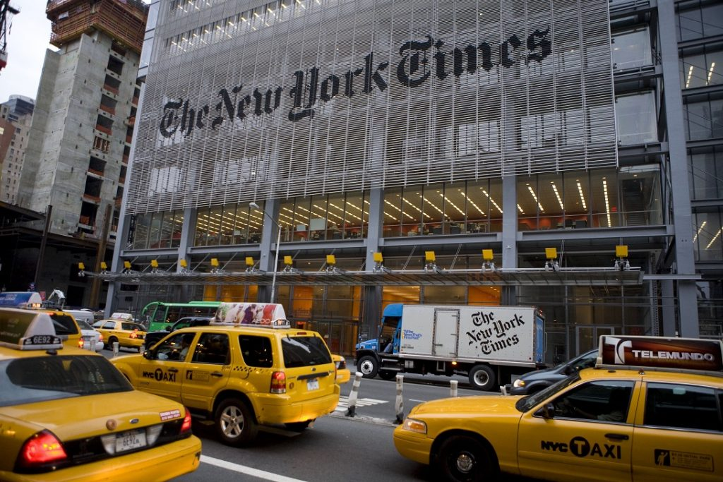 The New York Times Featured