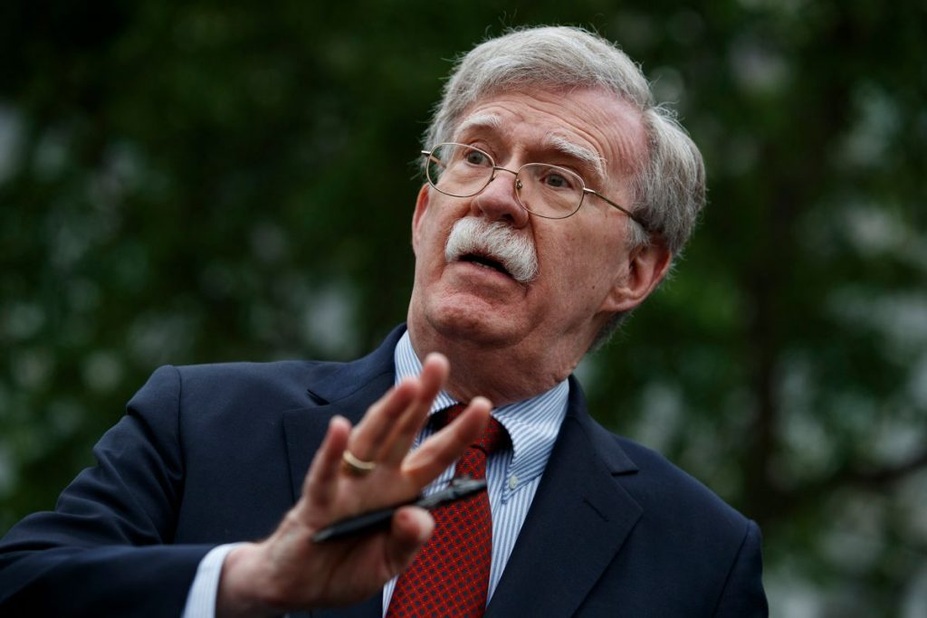 john bolton book leak