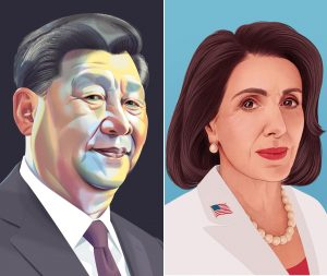 Xi Jinping Nancy Pelosi