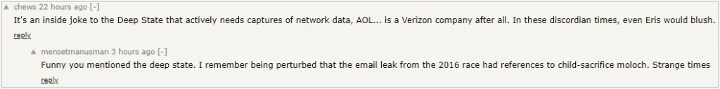 AOL Moloch Hacker News Ycombinator 6