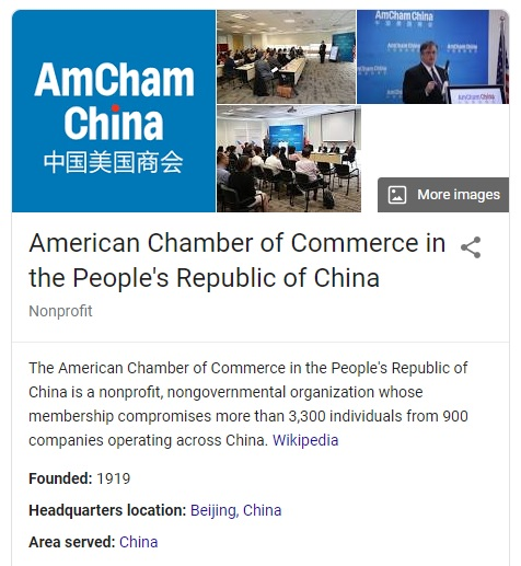 American Chamber Of Commerce In The People's Republic Of China