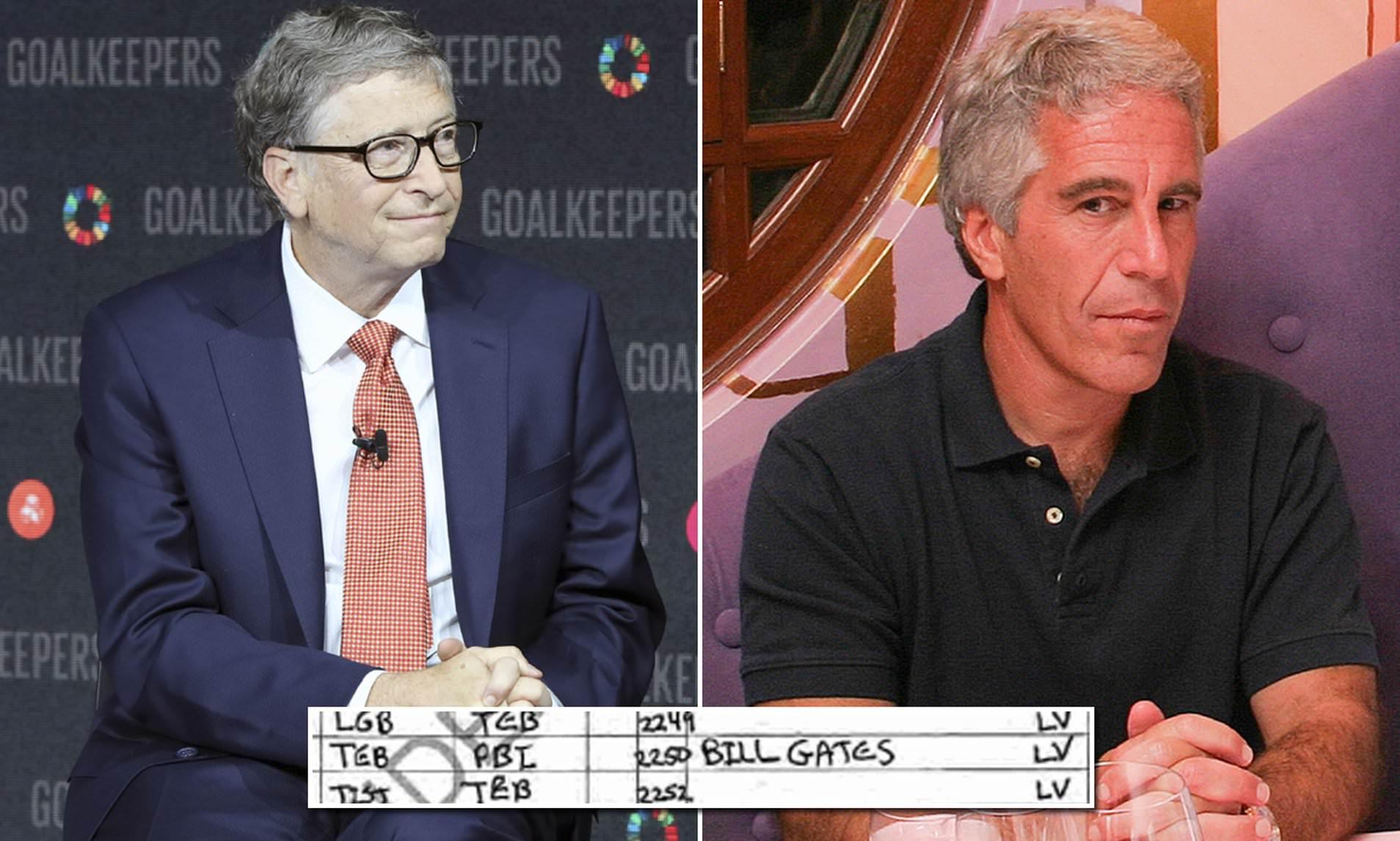 Bill Gates And Jeffrey Epstein Lolita Express Featured