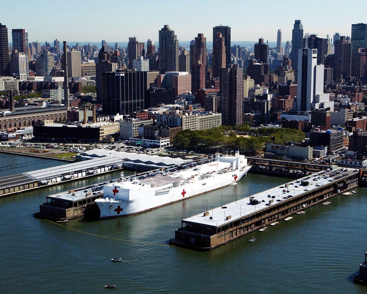 COVID-19 Infected Patients Accidentally Transferred To Navy USNS Comfort New York City