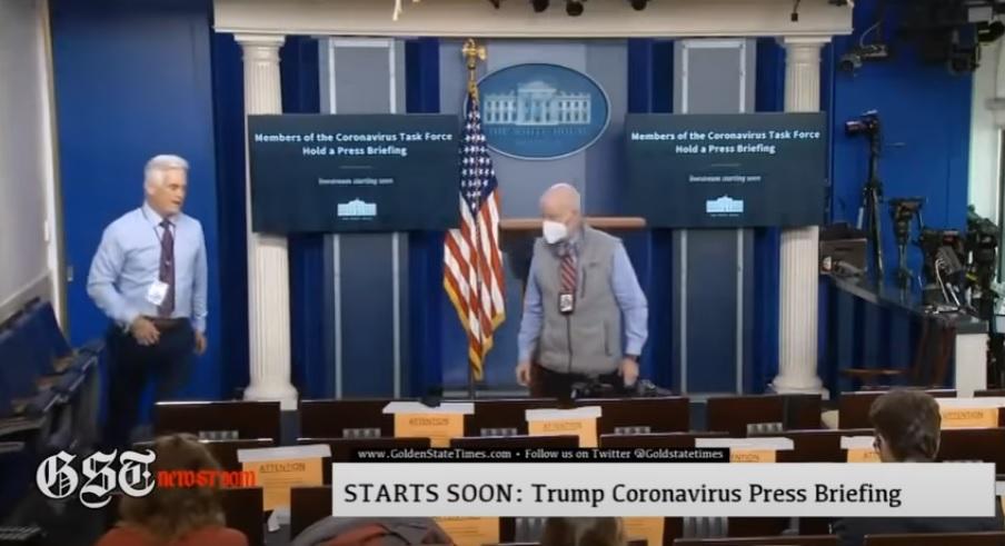 John Roberts Hot Mic White House Press Briefing Room