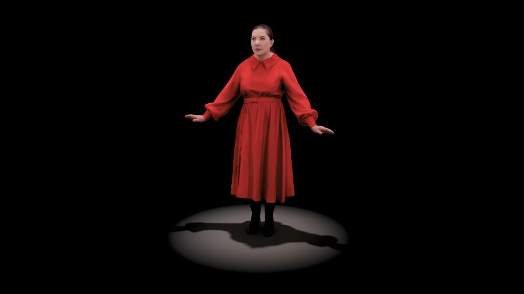 Marina Abramovic The Life Mixed Reality Hologram