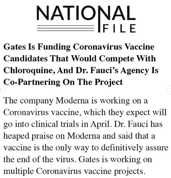 Robert F Kennedy Instagram Bill Gates Coronavirus Vaccine 7
