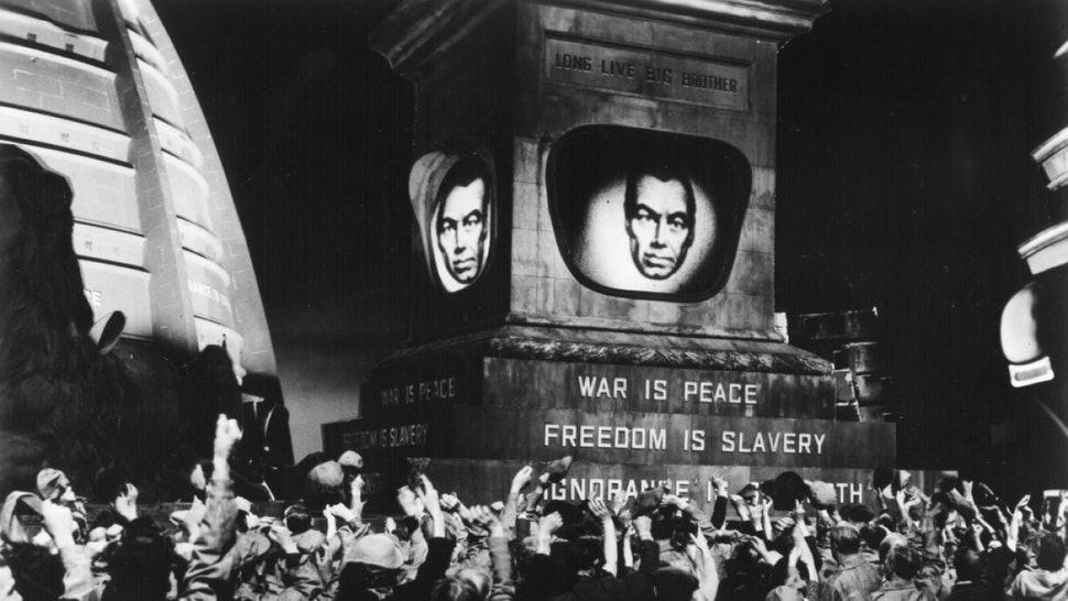 George Orwell 1984 Dystopian Newspeak