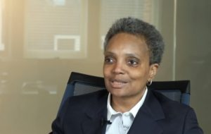 Lori Lightfoot Allegiance To New World Order Interview