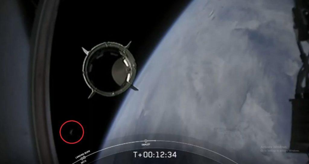 SpaceX Crew Dragon UFO 2