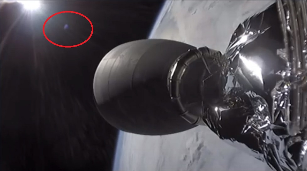 SpaceX Crew Dragon UFO Featured