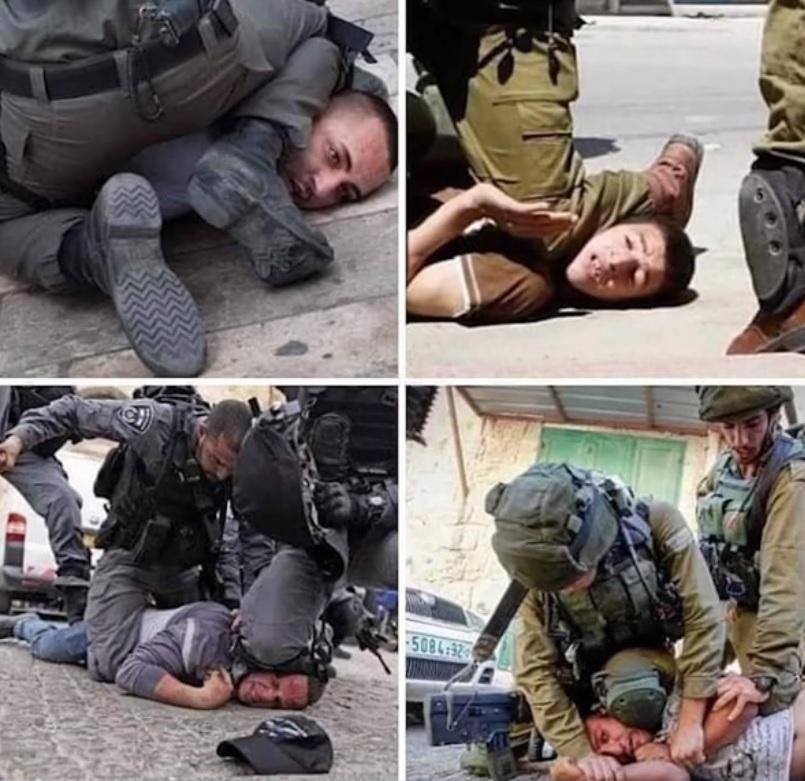 IDF Knee On Neck Compilation