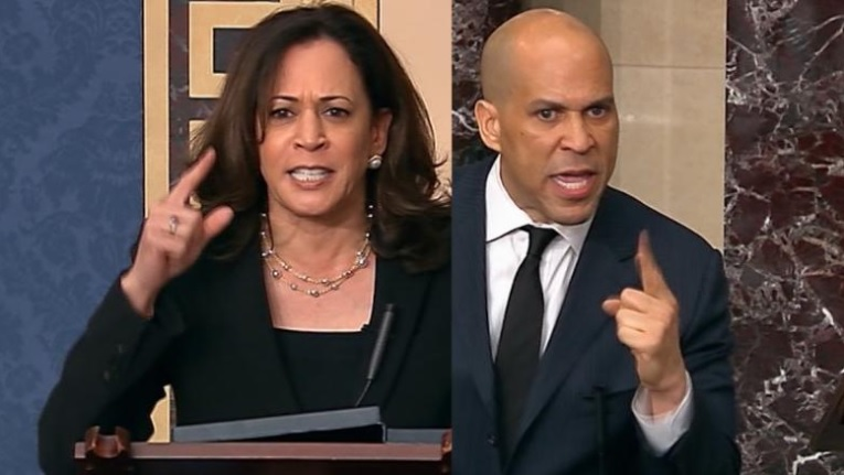 Kamala Harris Cory Booker Bubba Wallace Lynching Noose