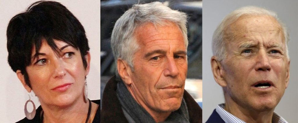 Ghislaine Maxwell Jeffrey Epstein Joe Biden Connections