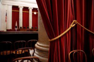 Inside United States U.S. Supreme Court