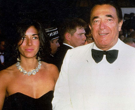 Robert Maxwell Alleged MI6 KGB Mossad Spy With Daughter Ghislaine Maxwell