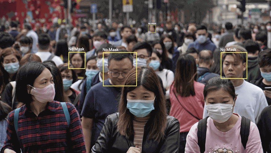 Face Mask Detection System No Mask