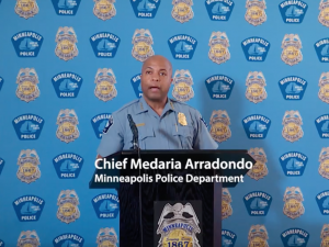 Minneapolis Police Chief Medaria Arradondo