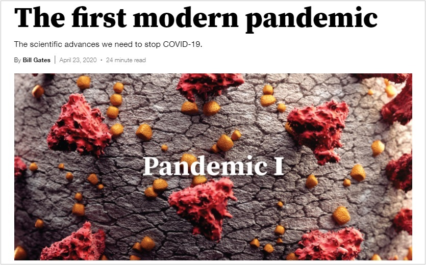 Bill Gates Pandemic 1
