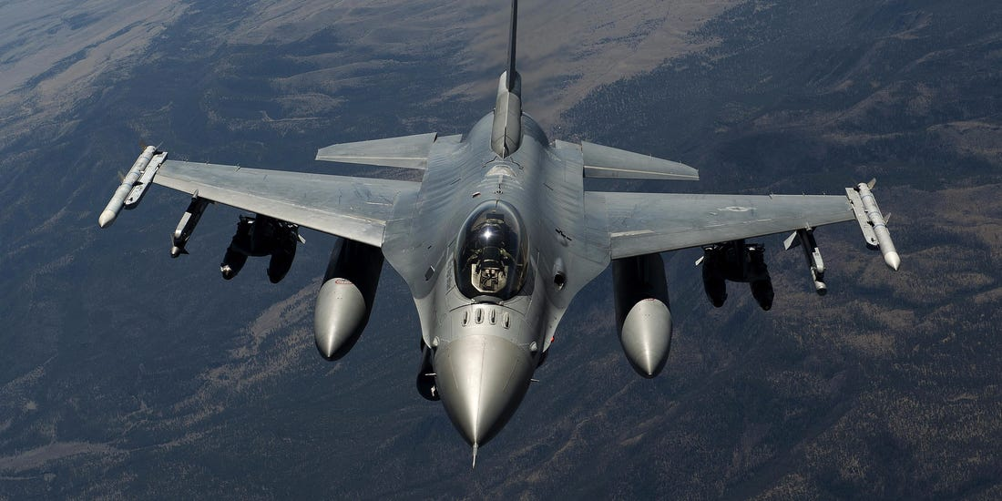 F16 Intercepts Unresponsive Aircraft Over Trump Rally