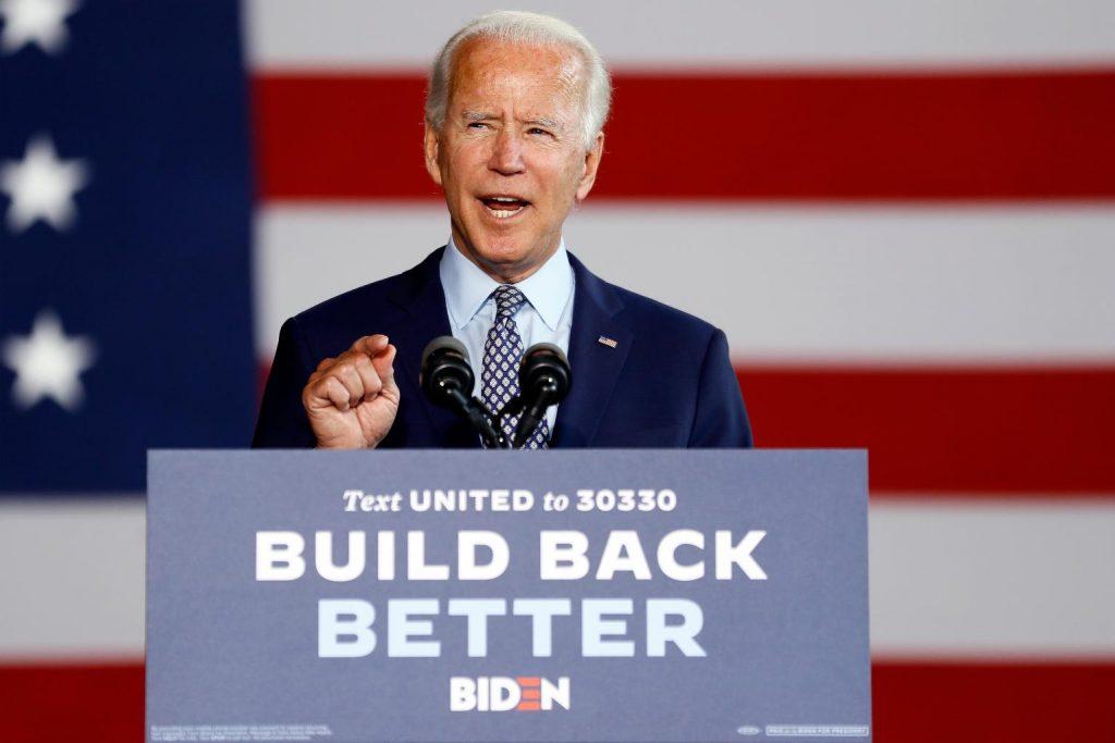 Joe Biden Build Back Better Campaign