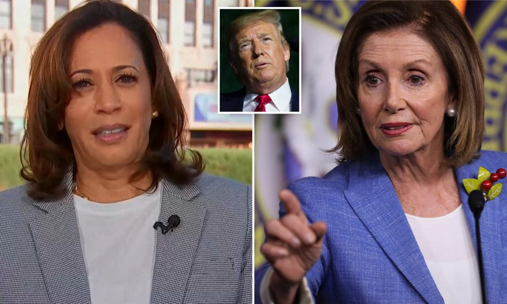 Kamala Harris And Nancy Pelosi Allegedly Rigged 2020 Election