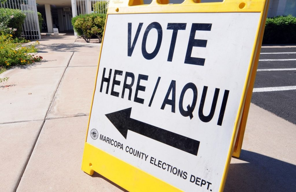 Maricopa County Elections Department Vote Here