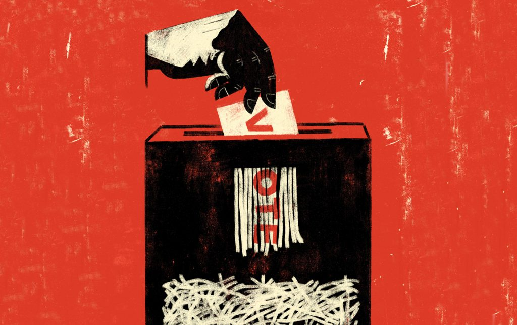 American Voting Integrity Under Siege