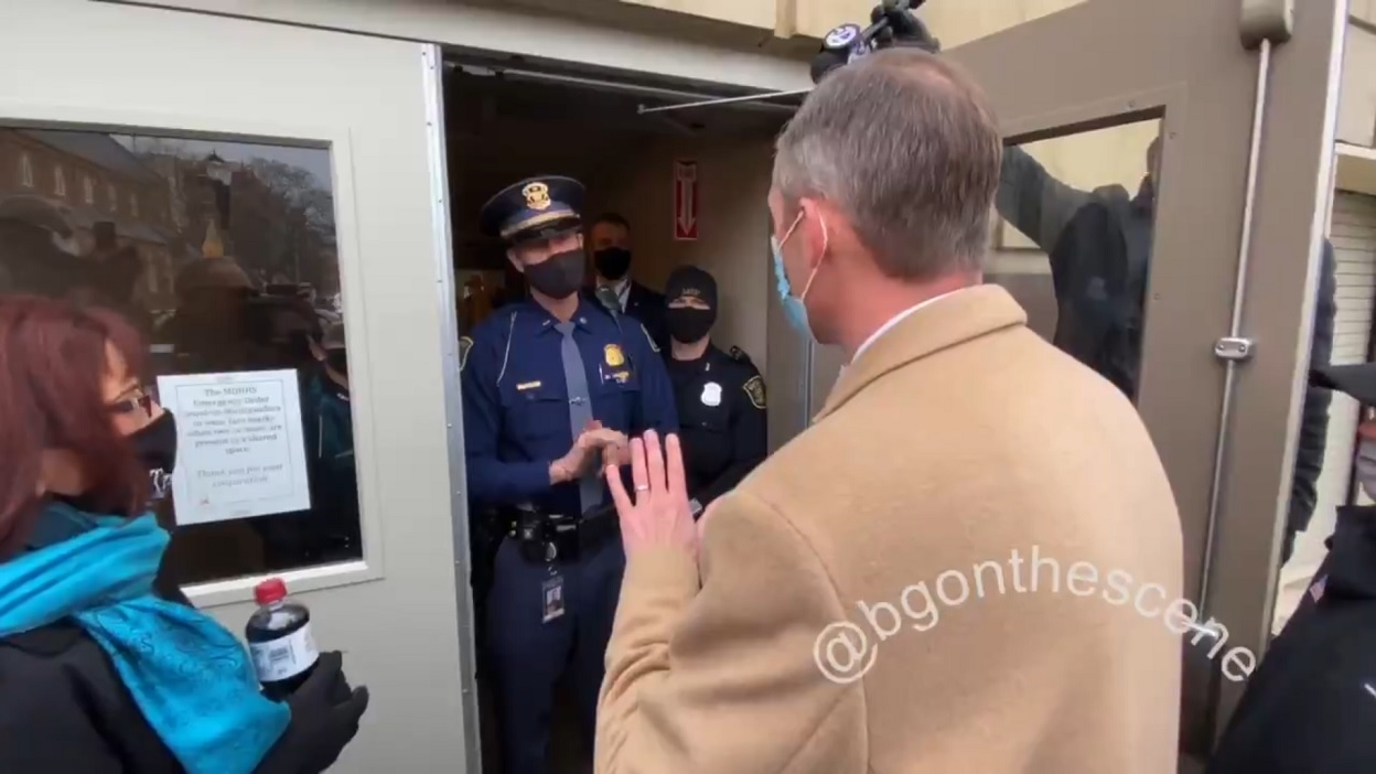 MI GOP Electors Denied Access To Capitol Governor Whitmer