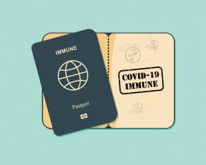 Coronavirus Vaccine Passport For Travel And Basic Services