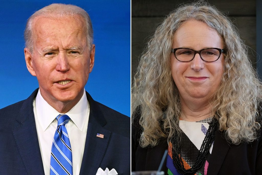 Joe Biden Rachel Levine