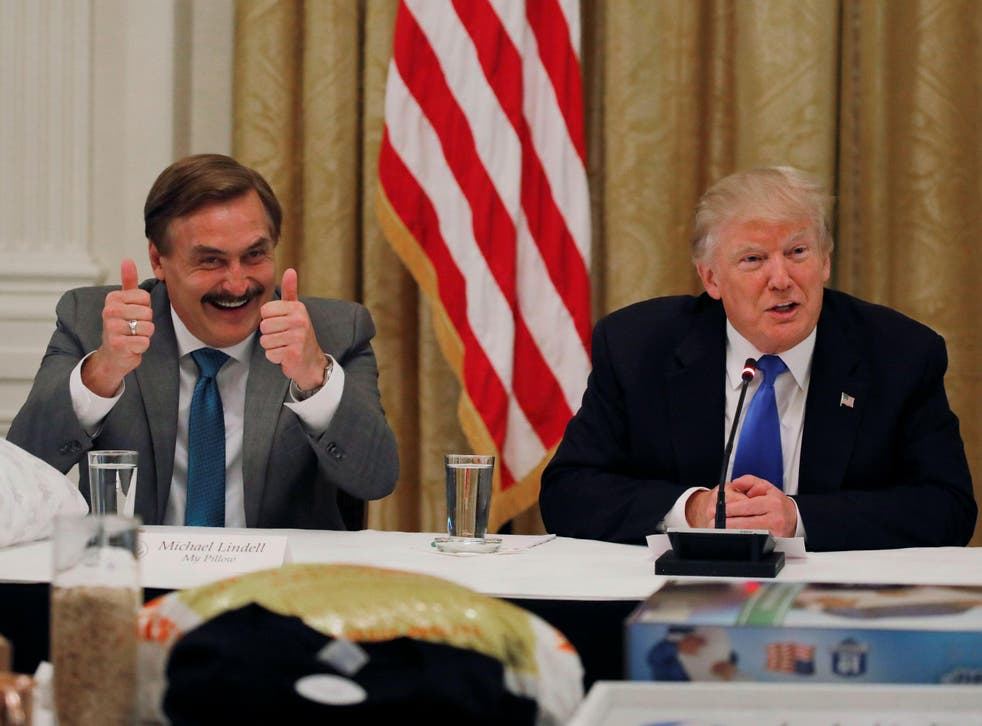 Mike Lindell And President Trump