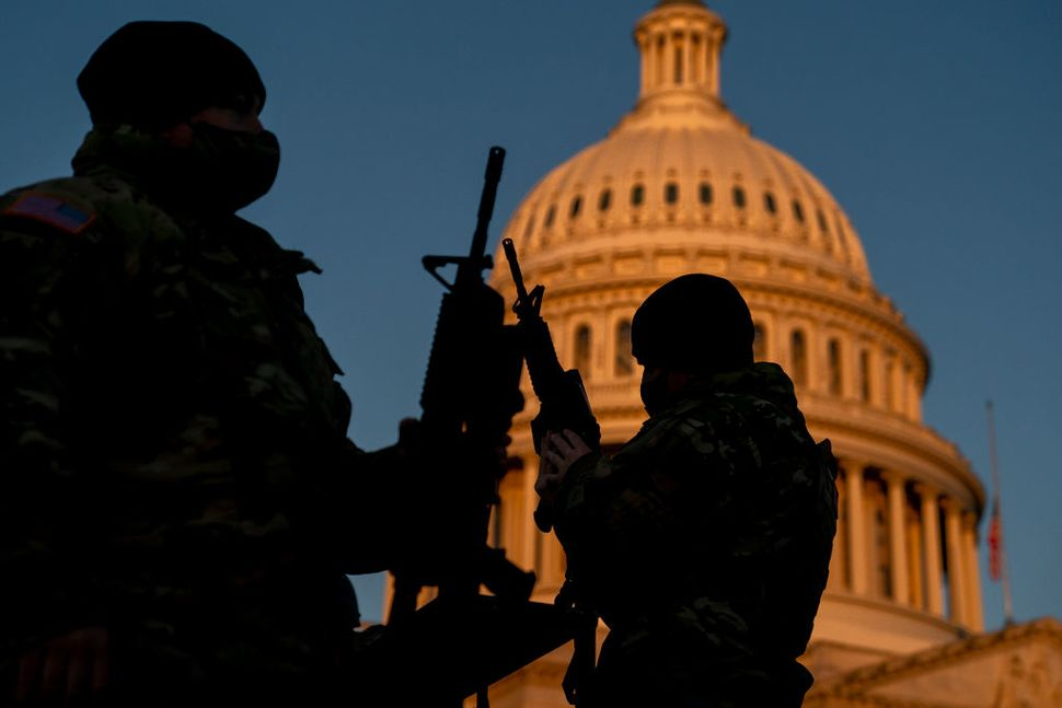 National Guard Deployed In Washington DC