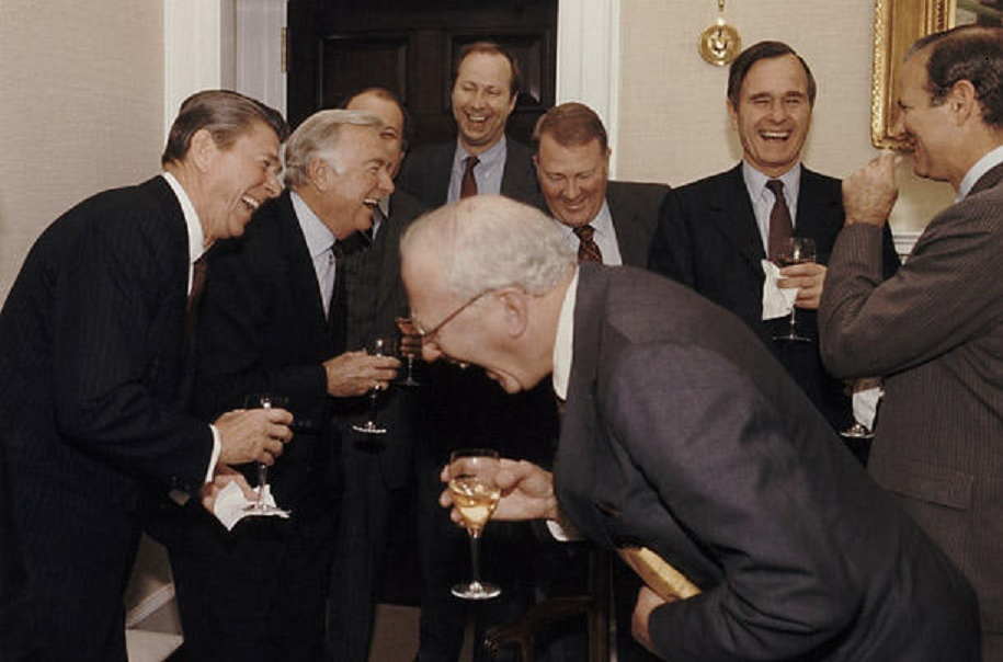 Rich Men Laughing Meme
