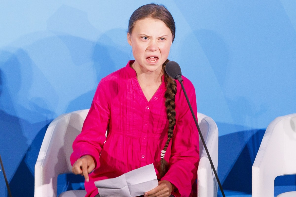Greta Thunberg Speaking